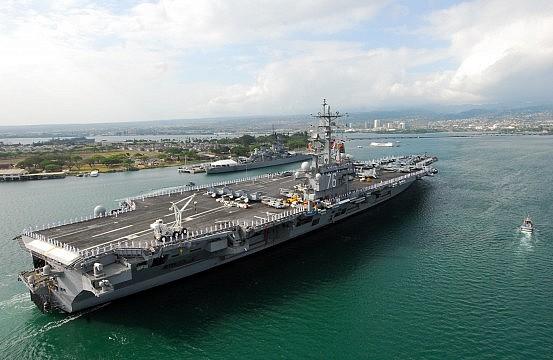 US Navy Tweaks Pacific Carrier Force