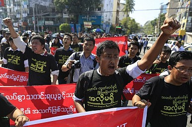 Myanmar Stumbles on Press Freedom