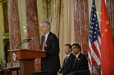 US, China Talk Korean Denuclearization, Maritime Disputes