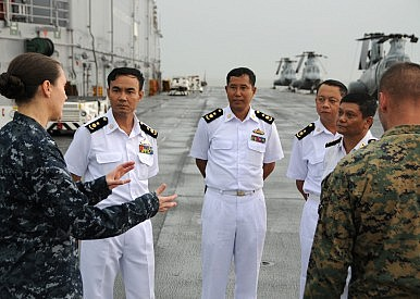 Engaging Myanmar's Navy