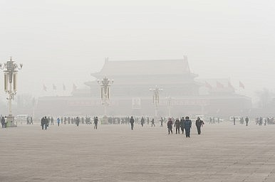 China Gives Itself Failing Grade for Air Pollution