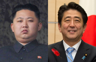 Survey: South Koreans Prefer Kim Jong-un to Shinzo Abe
