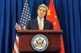 In Beijing, Kerry Focuses on North Korea, Climate Change