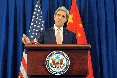 In Beijing, Kerry Focuses on North Korea, Climate Change