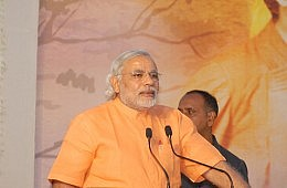 Narendra Modi Inaugurated as Prime Minister of India