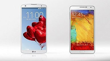 Phablet Rivalry: Samsung Galaxy Note 3 vs. LG G Pro 2
