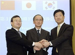 China-Japan-South Korea Hold FTA Talks Despite Political Tension
