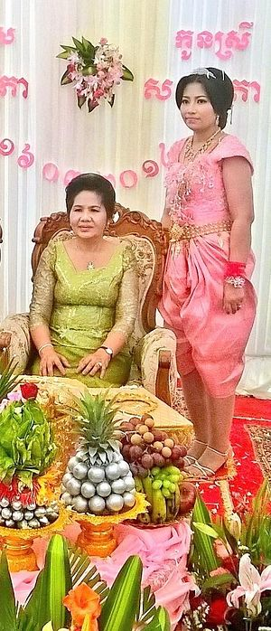 Pol Pot's Daughter, Sar Patchata, Weds in Cambodia