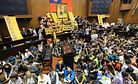 Taiwan Protesters Issue Ultimatum