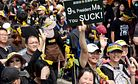 Hundreds of Thousands Protest Against Trade Pact in Taiwan