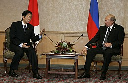 China and Japan Battle for Russia's Allegiance