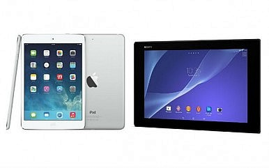 Slate Showdown: iPad Air vs. Sony Xperia Z2 Tablet