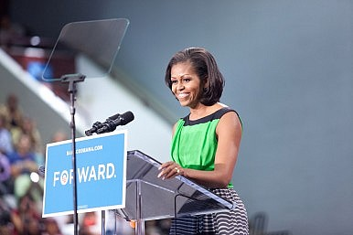 First Lady Diplomacy: The Message to China