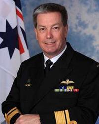 Rear Admiral Tim Barrett