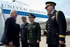 After Japan Visit, Hagel Tries to Improve China Ties