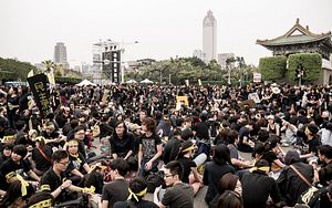 Taiwan's Protests: Yes, This Is Democracy