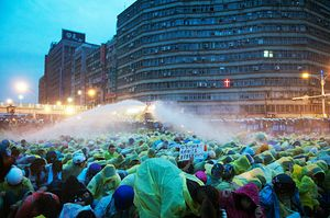 Taiwan Rocked by Anti-Nuclear Protests