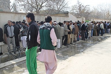 People in Afghanistan Ready to Defy the Taliban and Vote