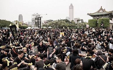 China Responds to Taiwan's Sunflower Movement