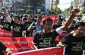 Myanmar's 'Black Page' Media Protest