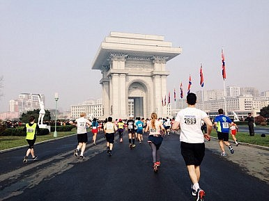Running a Marathon in North Korea
