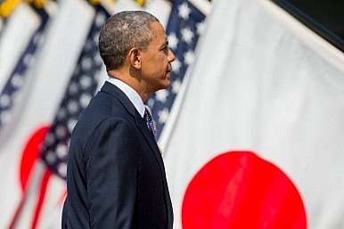 China Is Fine With Obama's Trip to Asia - Except for Japan