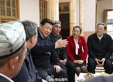 Counterterrorism, 'Ethnic Unity' the Focus as Xi Visits Xinjiang