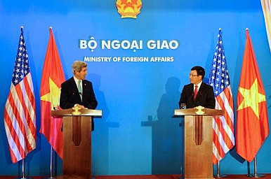 Amid South China Sea Tensions, Vietnam Seeks Closer Ties with US