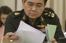 Thailand's Junta Chief Warns Against Election Rush