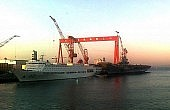 Aircraft Carrier Model Shows China's Naval Ambitions