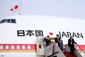 Abe Lines Up Energy Investments on Latin America Tour
