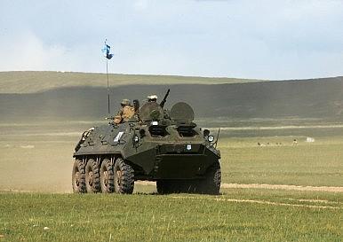 Mongolia Hosts Exercise Khaan Quest 2014
