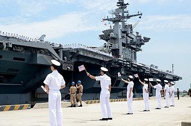 US Boosts Naval Diplomacy in NE Asia