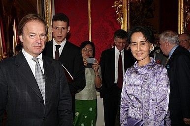 U.K. Minister of State Hugo Swire on Burma
