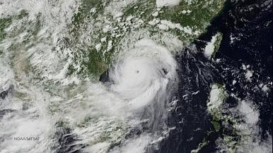 Typhoon Rammasun Hits Philippines, China