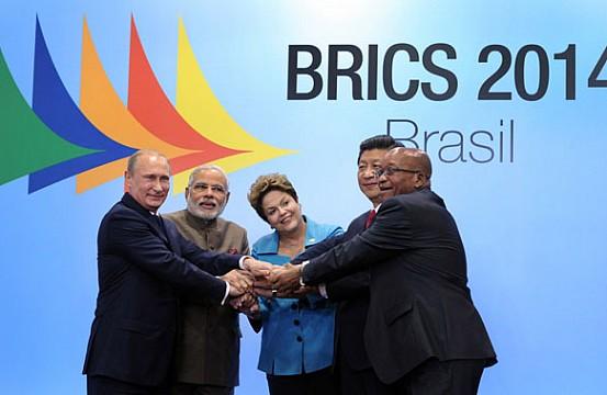 BRICS Un Mundo Emergente - Magazine cover