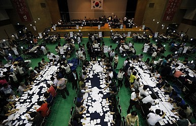 South Korea's Ruling Party Scores Big At Polls