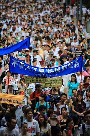 Hong Kong's Dueling Protest Movements