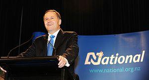 New Zealand PM Key Seeks Third Term