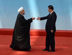 Iran Looks East, China Pivots West
