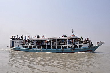 Another Overcrowded Bangladesh Ferry Sinks