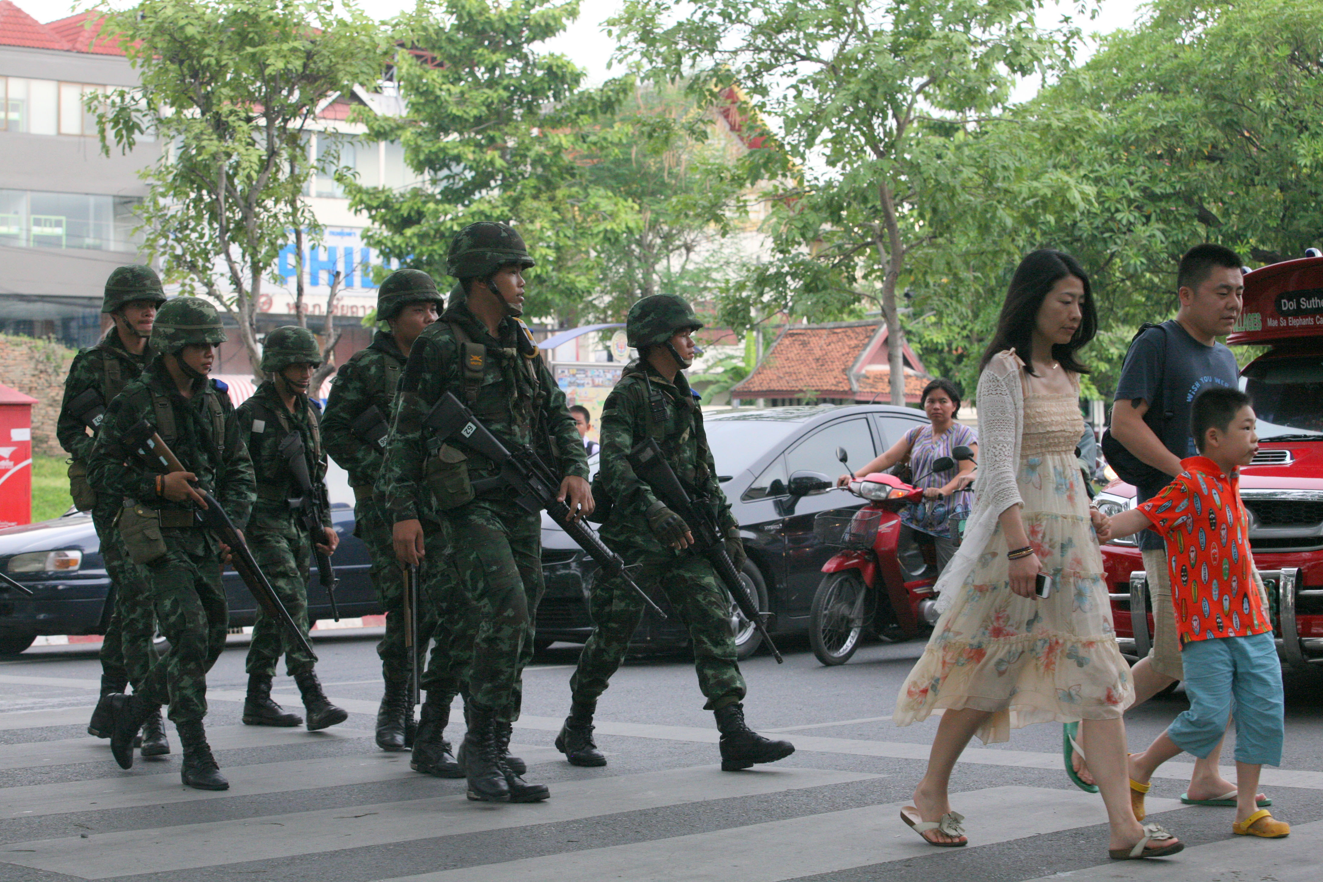Thailand Under the Junta