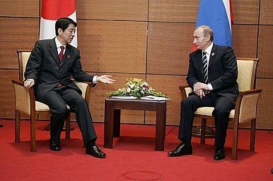 A Putin-Abe Summit Doesn't Threaten the US