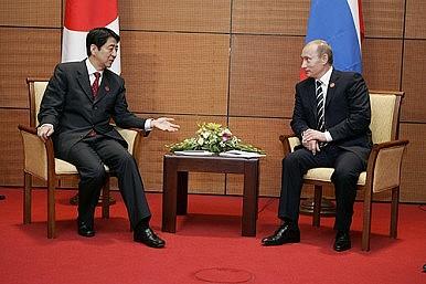 A Putin-Abe Summit Doesn't Threaten the US