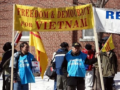 Vietnamese Activists Get Three Years in Prison for 'Obstructing Traffic'