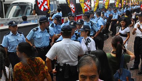 The Hong Kong Occupy Central Protests