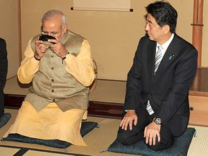 India's Modi and Japan's Abe Exchange Birthday Wishes… On Twitter