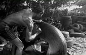 The World of Yangon's Tire-Cutters
