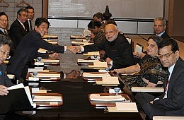 Modi-Abe Summit High on Rhetoric, Lagging in Agreements
