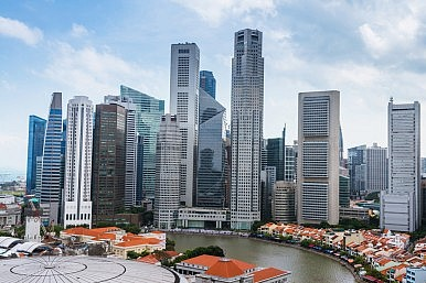 Asia Climbs Competitiveness Scale